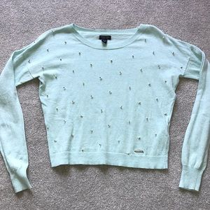 Diamond and Pearl Polo Sweater